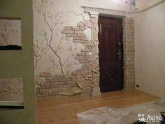 Отделочные работынанесение декоративной или венецианской штукатурки; декоративная покраска.;поталь ,трафареты ,обои,