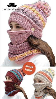 Do you want to be cute and cozy this winter? Stay warm with this unique Beanie-Mask Scarf Set. You can use the set together or separately as you will. It will keep your head, ears, face, and neck warm. And on top of that, it will keep you beautiful. Get Yours Today with a SPECIAL 50% DISCOUNT. Crochet Mug Cozy, Knit Crochet, Knitting Patterns, Crochet Patterns, Crochet Shoes, Crochet Videos, Knit Fashion, Crochet Designs, Knit Beanie