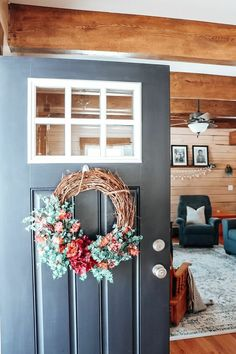 Here is how to make a Budget Friendly Spring Wreath.Supplies: Grapevine wreath Faux Greenery Faux Flowers - different types Floral Wire Cutters Grapev… Wood Valances For Windows, Flowers For Everyone, Scrabble Wall Art, Clothes Pin Wreath, Making A Budget, Diy Porch, Dose Of Colors, Wreath Forms, Boho Diy