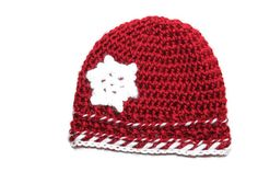 Snowflake Christmas Crochet Hat (Baby, Toddler, Kids, Adult)   Available in Frozen Blue!   Holiday Photo Prop
