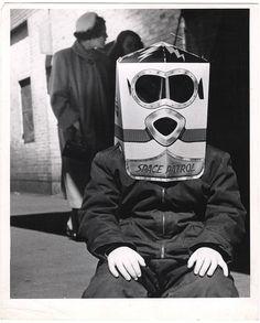 Fellig, Arthur (Weegee)(1899-1968) - 1956 Space Patrol, via Flickr.