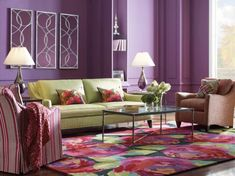 Decorate Your House With Purple Walls