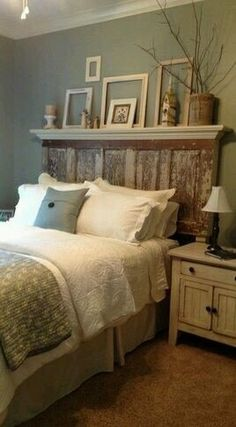 shutter headboard with a touch of decor from loweu0027s for the house pinterest shutter headboards bedrooms and repurposed