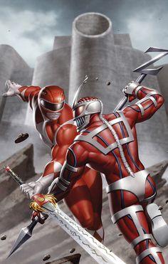 Comic Books Art, Comic Art, Mighty Morphin Power Rangers, Deadpool, Fan Art, Superhero, Comics, Artwork, Fictional Characters