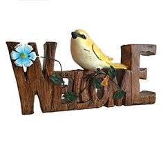 Welcome Yellow Canary Bird Plaque Tabletop Sign Faux Wood Unknown http://www.amazon.com/dp/B00V0RGDBC/ref=cm_sw_r_pi_dp_ixjIwb0THBTYK