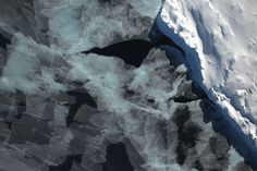 https://flic.kr/p/pYoCZU | Bellingshausen Sea | A small hole in the clouds revealed newly formed sea ice in the Bellingshausen Sea next to an ice berg on Nov. 5, 2014 flight.  Image Credit: NASA/Digital Mapping System  NASA's Operation IceBridge collected some rare images on a flight out of Punta Arenas, Chile on Nov. 5, 2014, on a science flight over western Antarctica dubbed Ferrigno-Alison-Abbott 01.  The crew snapped a few shots of a calving front of the Antarctic ice sheet. This…