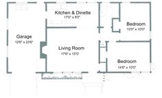 2 bedroom 2 bath cottage plans | Free Small House Plans - Plans for 2 Bedroom, 1 Bathroom House, Page 7