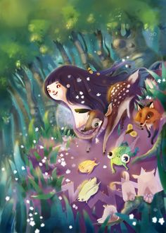 Twisted Fairytales: Snow Drop by Angela Pauly Llobet, via Behance