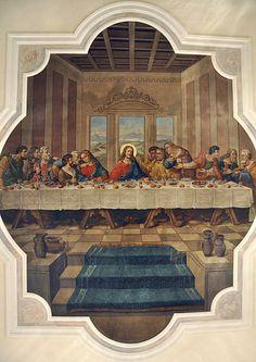 Famous art paintings leonardo da vinci last supper 26 ideas Catholic Art, Catholic Saints, Religious Art, Religious Pictures, Jesus Pictures, Da Vinci Last Supper, Famous Art Paintings, Christ Tattoo, Religion Catolica
