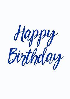Birthday Love, Birthday Quotes, Happy Birthday Greetings, Birthday Wishes, Happy Everything, Birthday Cookies, Birthdays, Writing, Panda