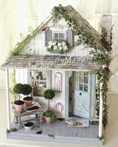 Cinderella Moments: Shabby Blythe Custom Dollhouse