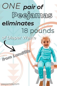 Potty training toddlers is no joke, but the transition from overnight diapers to pajamas for big kids is just as hard! Disposable overnight pants are expensice and fill up our landfills. Peejamas reusable cloth training pants are the perfect solution. Head over to the blog to find out if you should be using overnight training pants for big kids! #pottytrainingboys #bedwetting #ecofriendly #greenparenting #cleanliving #greenkids #organicliving