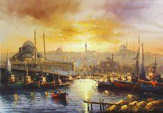 TabloTurk.com - Mustafa Eldeniz Yağlıboya Tabloları