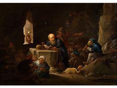 David Teniers II - Nachfolge DIE VERSUCHUNG DES HEILIGEN ANTONIUS