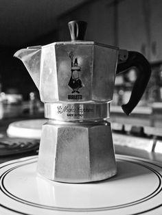 Iconic Bialetti Moka Italian stove top coffee maker