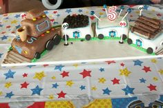 Finished product of my son's 5th birthday cake!