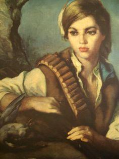 gypsy girl | Gypsy Girl, Spanish, Painting | Flickr - Photo Sharing!