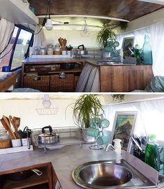 Airstream Trailers, Popup Camper, Van Living, Truck Camping, House On Wheels, Campervan, Van Life, Small Living, My Dream Home