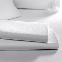 Sumptuous Sonesta linens are essential for starting and ending your day in comfort. We've crafted a stunning collection of cotton sheets and pillowcases in soft, buttery smooth thread counts. Refresh your bed's style with a patterned Sonesta flat sheet or enjoy the classic look and feel of the crisp, solid white linens. Elevate your sleep experience from routine to dreamy.