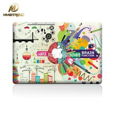 Mimiatrend New Strongest Brain Laptop Skin Sticker Decal For Apple Macbook Air Pro Retina 11 12 13 15 Inch Protective Cover Skin