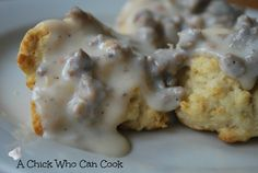 Drop Biscuits and Sausage Gravy on MyRecipeMagic.com