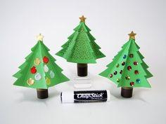 Qbee's Quest: Lip Balm Christmas Tree
