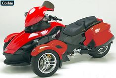 Corbin accessories for the Can Am Spyder