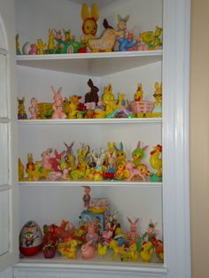 My vintage plastic Easter collection