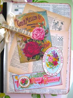 Garden Journal Notebook by beehivecottage on Etsy