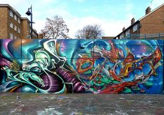 Amazing Graffiti Art:            Wow that's Stunning           Soo Detailed