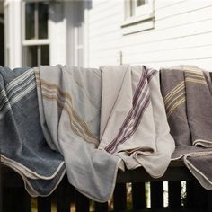 Rustic Linen Blankets  $185.00  Rustic linen is backed with dreamy soft organic cotton in a blanket that will brighten bedrooms and warm hea...