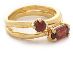 Wouters & Hendrix Stacked Garnet Ring