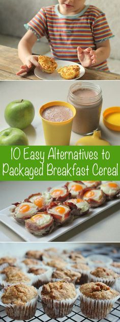 10 Easy (and fabulous) Alternatives to Packaged Breakfast Cereal for Kids