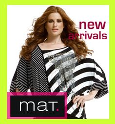 New collection Mat plus size fashion