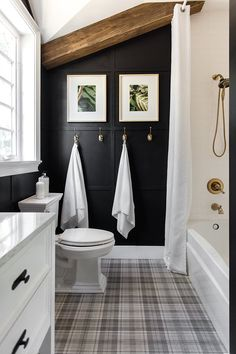 Guest Bathroom Reveal: Heights House | Jenna Sue Design Blog
