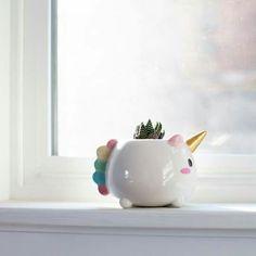Maceta Unicornio