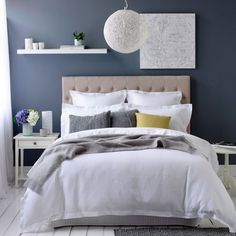 Quilt Covers & Coverlets Tuscany Bedroom from Adairs    Like the style of the room. Soft, soothing and pleasantly moody. Fresh look with wonderful combination of textures. Enticing and very feminine with a tranquile 'softness'. Just wishing for a brighter accent.