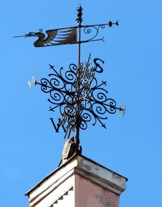 Barn Cupola, Weather Vain, Storefront Signs, Gothic Garden, Lightning Rod, Blacksmith Shop, Welding Art, Outdoor Signs, Metal Projects