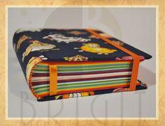 Handmade book / bookbinding - Colored Book - Handbound book - Handbound Journal