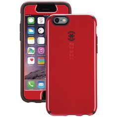 "Speck Spk-A3061 Iphone(R)6 4.7"" Candyshell(R) + Faceplate(Tm) Case (Pomodoro Red/Black)"
