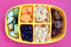 Toddler Nibble Tray: The perfect solution for the pickiest little eater in your life:)