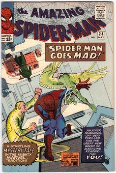 Amazing Spider-Man # 24 , May 1965 , Marvel Comics Vol 1 1963 tumblr_nj1q7qXYY01rn55nzo1_540.jpg (540×806)