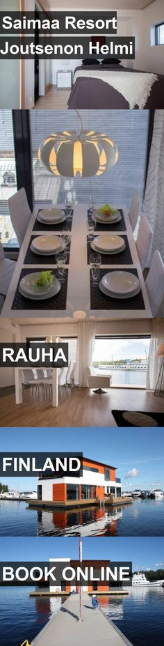 Hotel Saimaa Resort Joutsenon Helmi in Rauha, Finland. For more information, photos, reviews and best prices please follow the link. #Finland #Rauha #travel #vacation #hotel