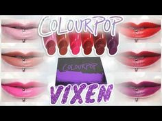ColourPop Vixen Lippie Stix Set | Dupes, Holiday Collection — review, swatches and more!