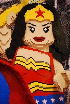 Wonder Woman Lego Legoliscious!