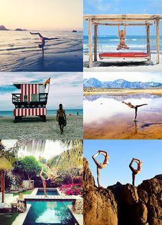 Les 10 comptes Instagram de Yoga à suivre pour faire le plein d'inspiration. Poses de yoga, voyage, yogi http://www.vogue.fr/beaute/en-vue/diaporama/les-10-comptes-instagram-de-yoga-les-plus-inspirants/21745