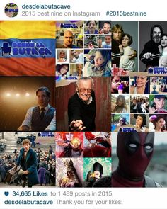 Un gran año lleno de mucho cine!! #Best9 #DLB #desdelabutaca Lee más al respecto en http://ift.tt/1hWgTZH Lo mejor del Cine lo disfrutas #DesdeLaButaca Siguenos en redes sociales como @DesdeLaButacaVe #movie #cine #pelicula #cinema #news #trailer #video #desdelabutaca #dlb