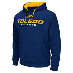 Colosseum Toledo Rockets College Pullover Hoodie