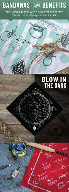 These are pretty darn cool! Bandanas with benefits. Your classic bandana with a new layer of benefits. Put more than just a hanky in your back pocket. www.coltercousa.com