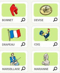 CE1 - Reconnaître les symbôles de la République Française FLE en ESO: Connais-tu les symboles de la République ?